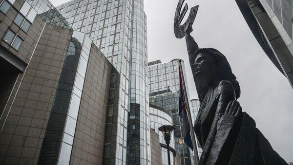 Budova Evropského parlamentu v Bruselu - Sputnik Česká republika