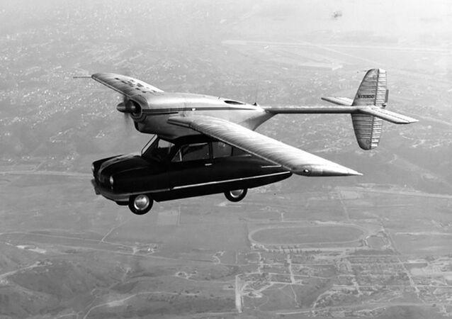Prototyp létajícího stroje Convair Model 118