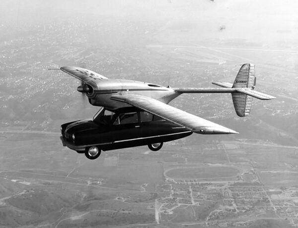 Prototyp létajícího stroje Convair Model 118 - Sputnik Česká republika