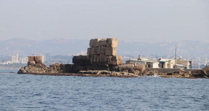 Vědci u pobřeží Sýrie objevili ruiny starověkého přístavu pravděpodobně z římského období