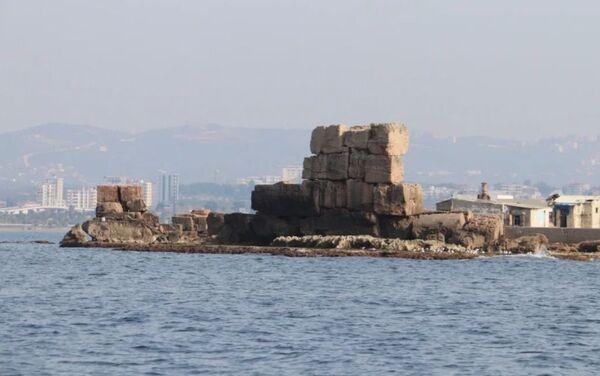Vědci u pobřeží Sýrie objevili ruiny starověkého přístavu pravděpodobně z římského období - Sputnik Česká republika