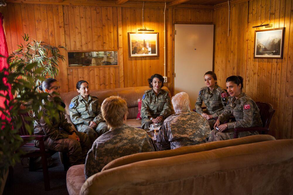 Důstojnice turecké armády