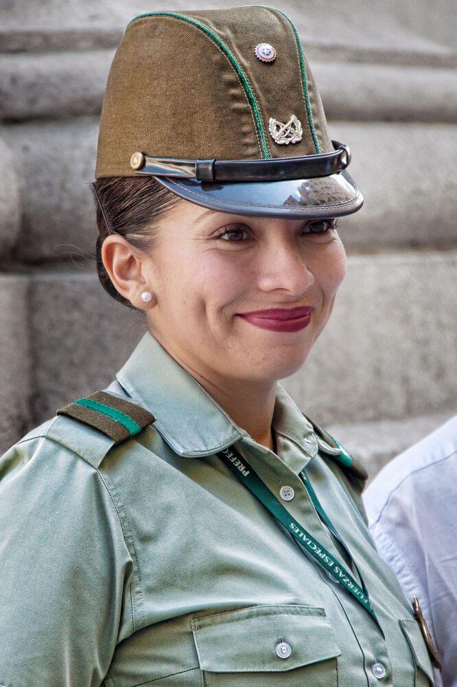 Vojačka v Santiago, Chile