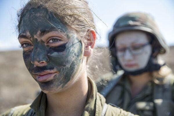 Izraelské vojačky - Sputnik Česká republika