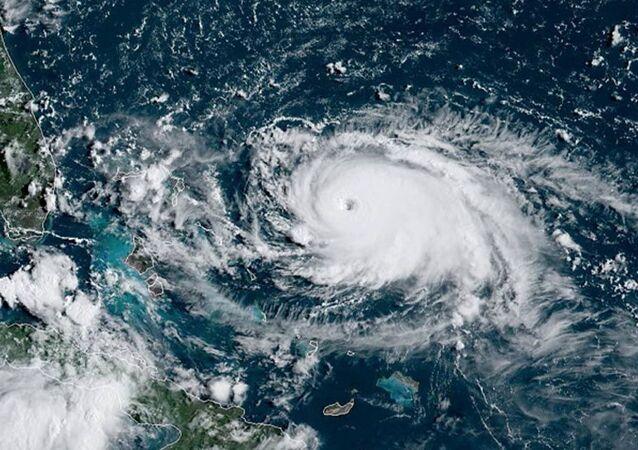 Hurikán Dorian v Atlantském oceánu
