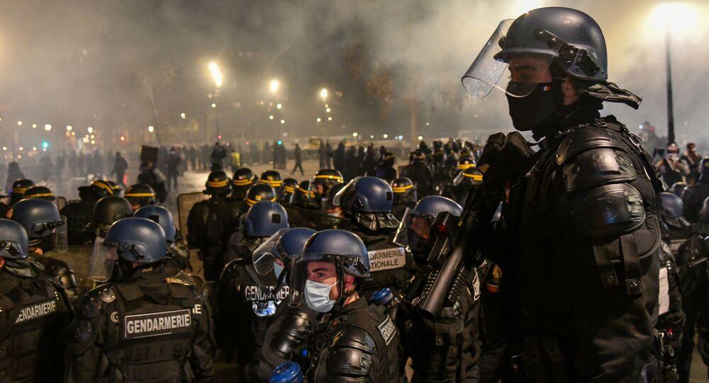 Protesty proti zákonu o globální bezpečnosti
