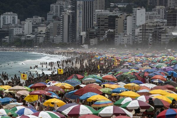 Rio de Janeiro, Brazílie.  - Sputnik Česká republika