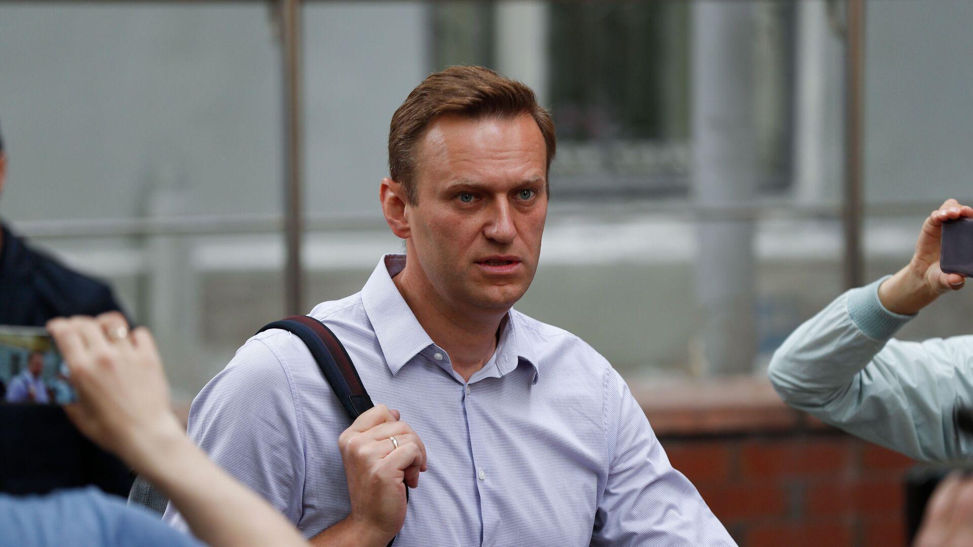 Bloger Alexej Navalnyj v Moskvě - Sputnik Česká republika, 1920, 26.07.2021