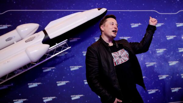 Podnikatel Elon Musk  - Sputnik Česká republika
