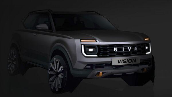 Budoucí vzhled nového auta Lada Niva Vision - Sputnik Česká republika