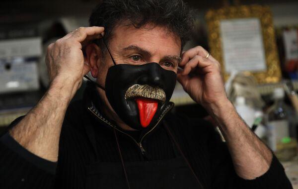 Další oběť koronaviru: Itálie přišla o slavný benátský karneval.  - Sputnik Česká republika
