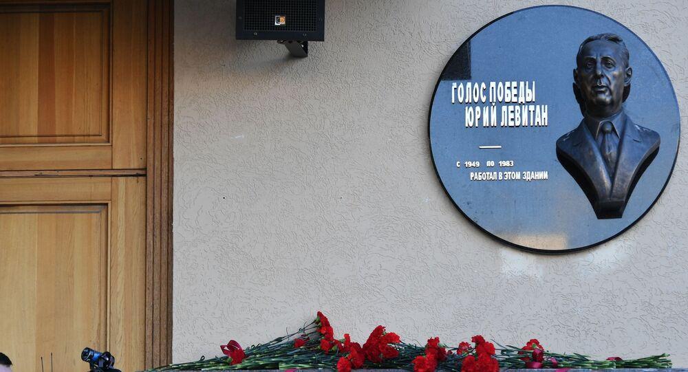 V Moskvě byla odhalena pamětní deska na počest Jurije Levitana