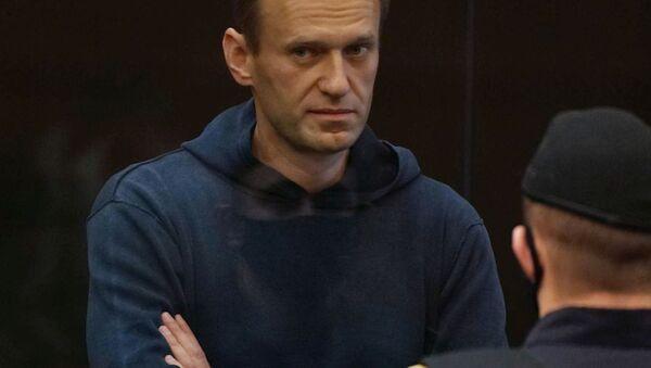 Alexej Navalnyj na zasedání Moskevského městského soudu - Sputnik Česká republika