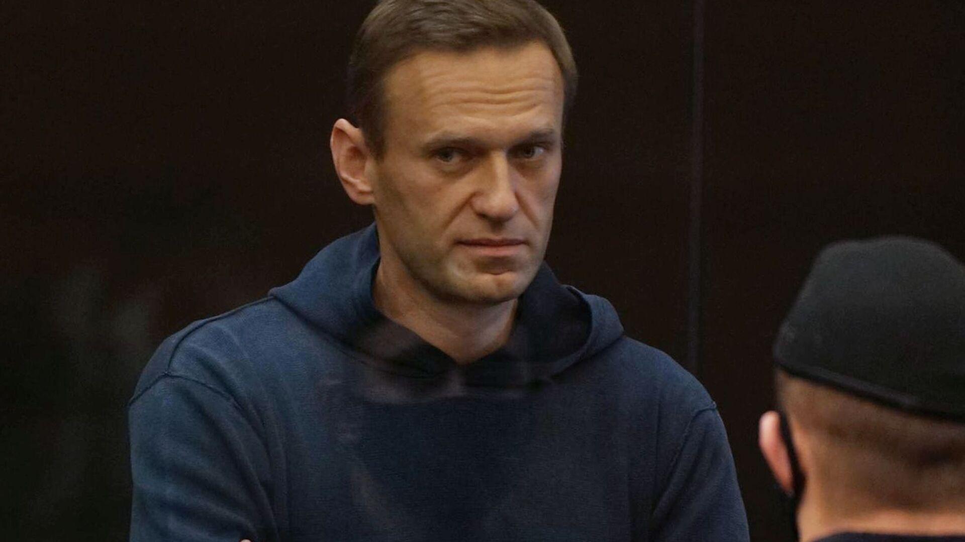 Alexej Navalnyj na zasedání Moskevského městského soudu - Sputnik Česká republika, 1920, 28.02.2021