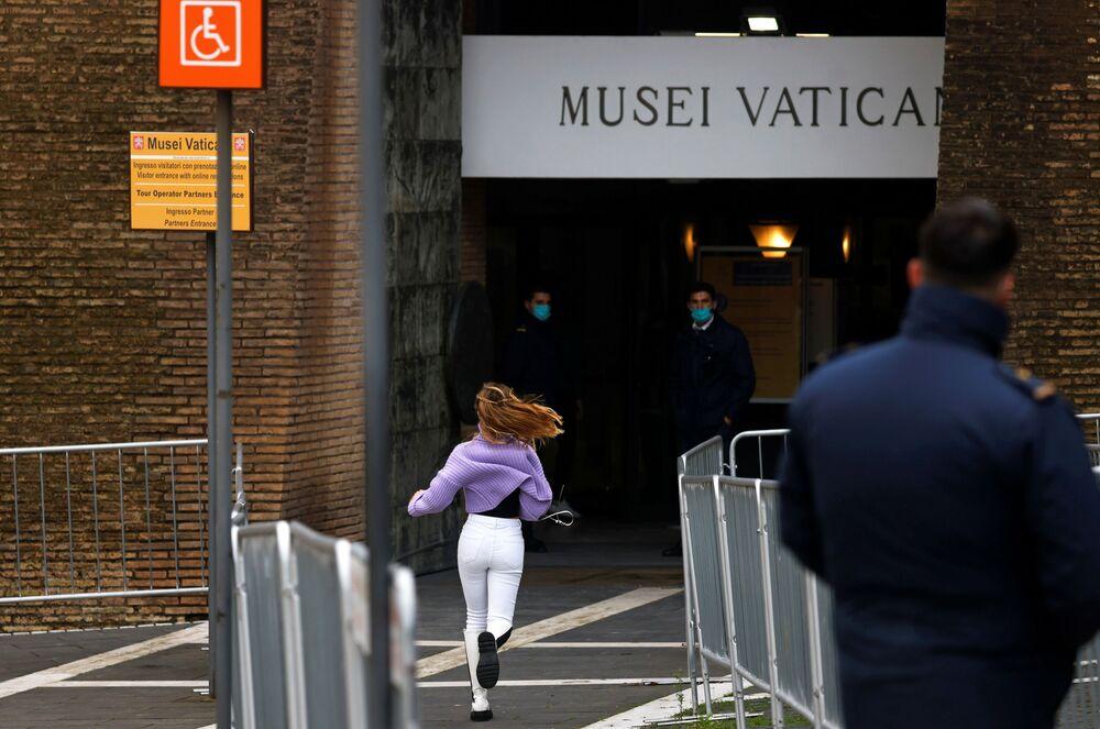 Vchod do Vatikánského muzea