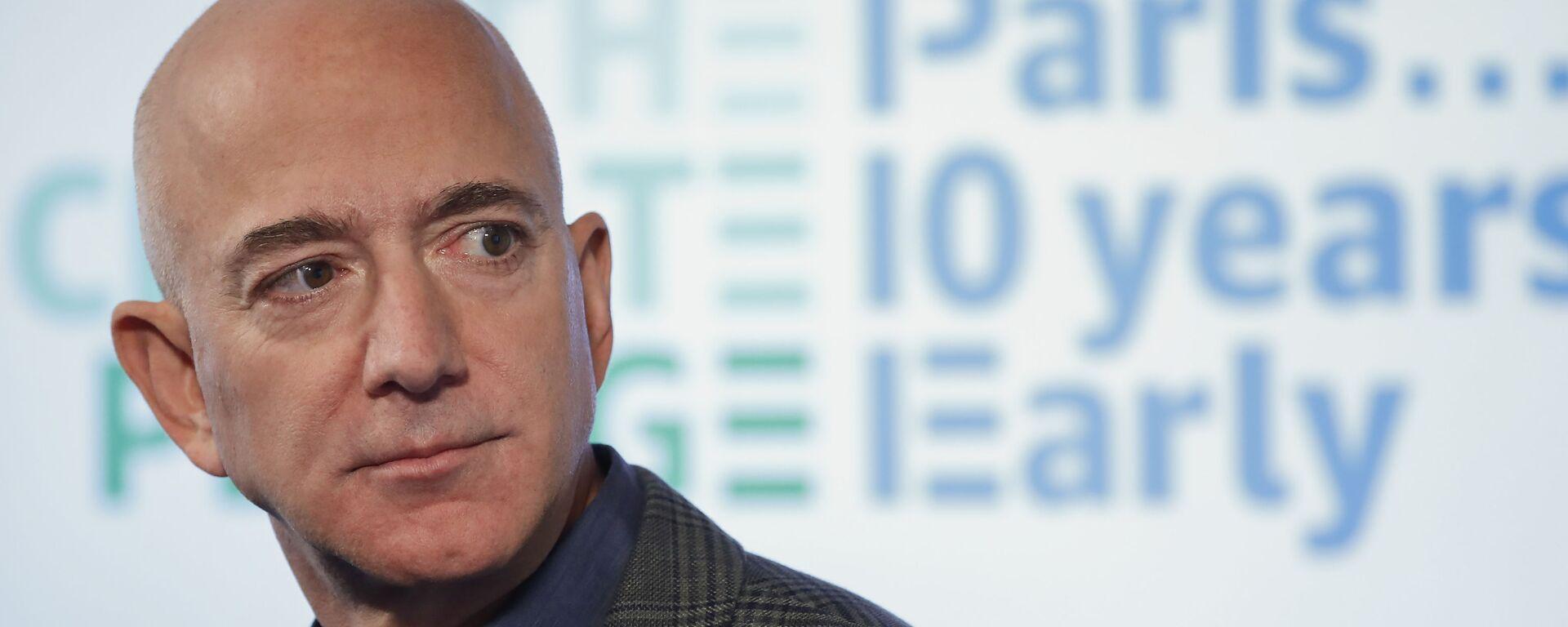 Zakladatel Amazonu Jeff Bezos  - Sputnik Česká republika, 1920, 03.02.2021