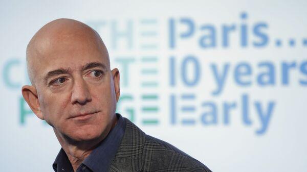 Zakladatel Amazonu Jeff Bezos  - Sputnik Česká republika
