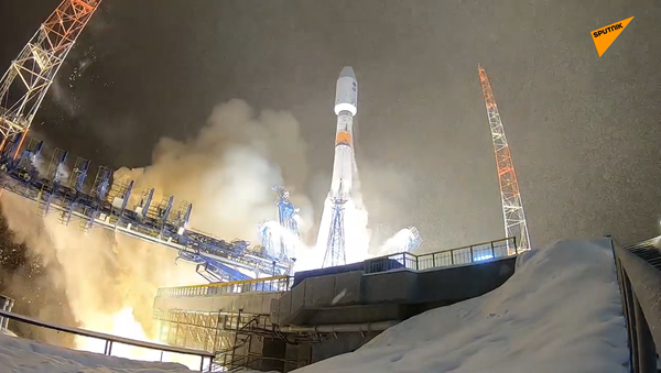 Nosná raketa Sojuz 2.1b - Sputnik Česká republika