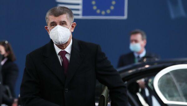 Předseda vlády Andrej Babiš  - Sputnik Česká republika