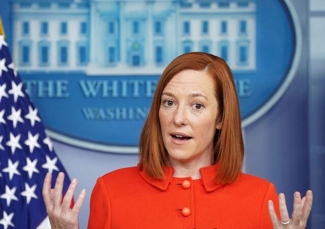 Tisková mluvčí Bílého domu Jen Psakiová