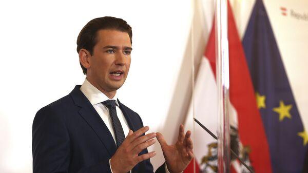 Rakouský kancléř Sebastian Kurz - Sputnik Česká republika