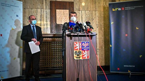 Jan Blatný a Andrej Babiš - Sputnik Česká republika