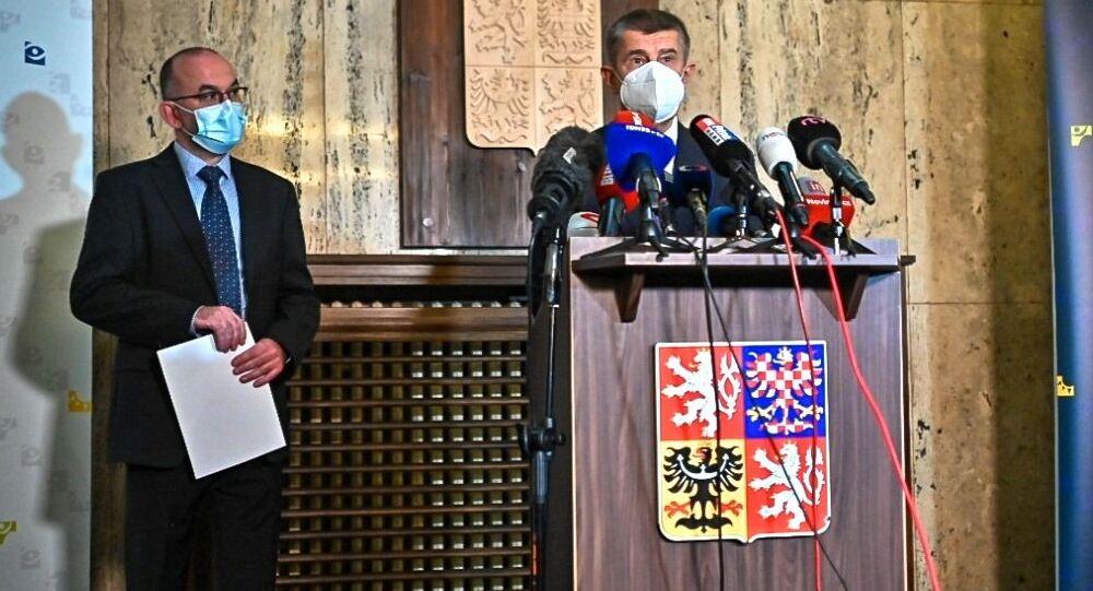 Jan Blatný a Andrej Babiš