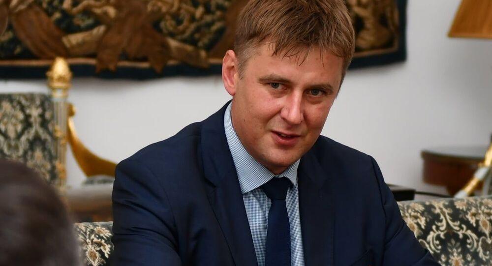 Ministr zahraničí a místopředseda ČSSD Tomáš Petříček