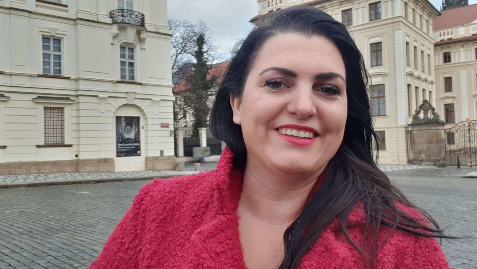 Blogerka Jordanka Jirásková - Sputnik Česká republika, 1920, 05.02.2021