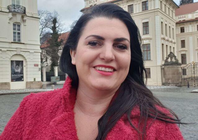 Blogerka Jordanka Jirásková