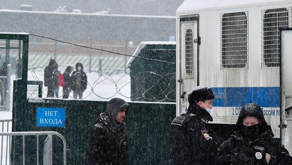 Speciální zadržovací středisko v Sacharově - Sputnik Česká republika