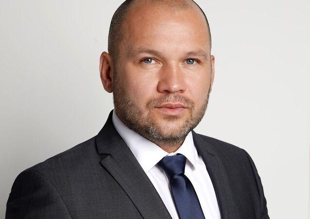 Starosta slovenské obci Dvory nad Žitavou Ing. Branislav Becík