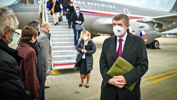 Andrej Babiš na návštěvě v Budapešti - Sputnik Česká republika