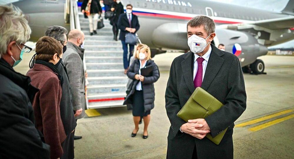 Andrej Babiš na návštěvě v Budapešti