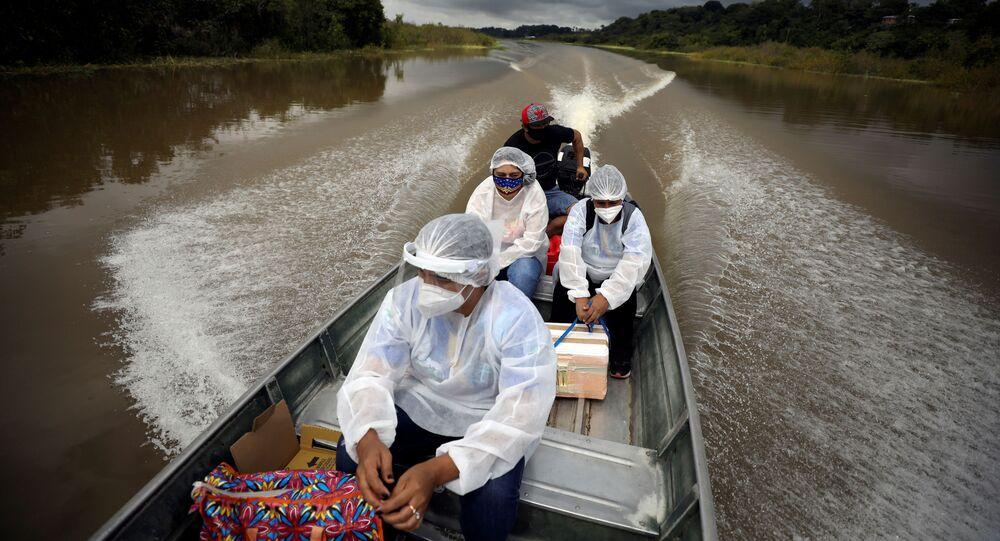 Zdravotničtí pracovníci v Brazílii
