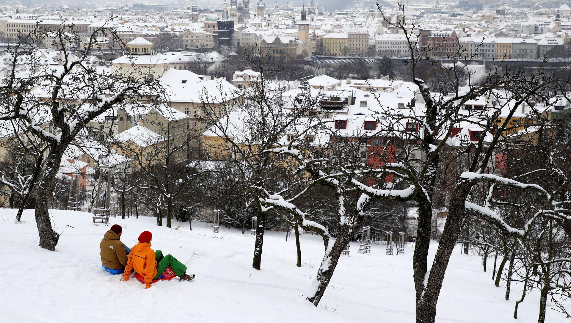 Zimní pohled na Prahu - Sputnik Česká republika, 1920, 19.02.2021