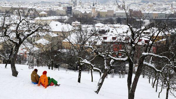 Zimní pohled na Prahu - Sputnik Česká republika