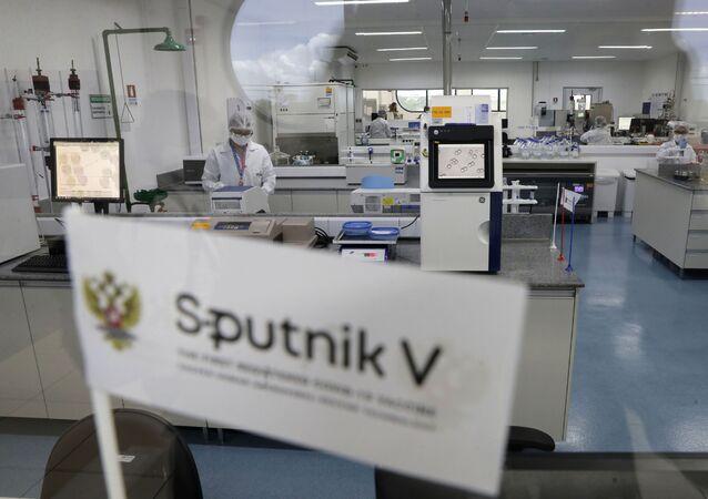 Sputnik V. Ilustrační foto