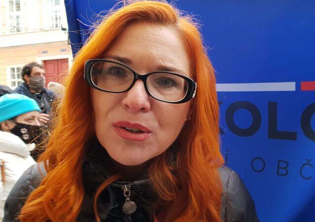 Zuzana Majerová odpověděla Sputniku na dotaz