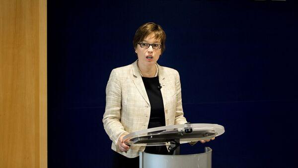 Výkonná ředitelka Europolu Catherine De Bolleová  - Sputnik Česká republika