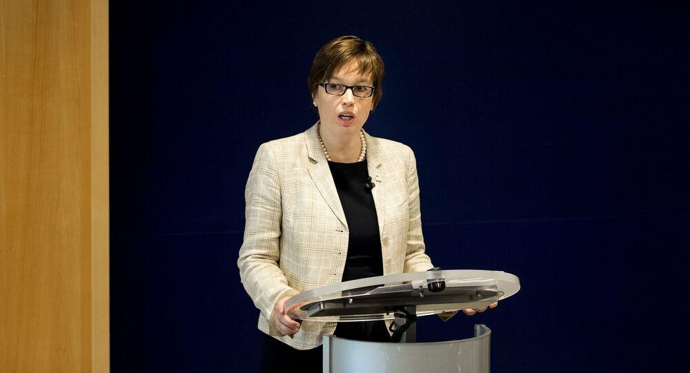 Výkonná ředitelka Europolu Catherine De Bolleová