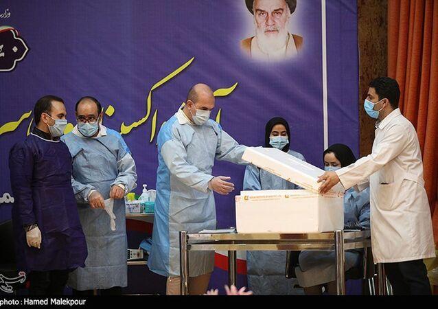 Očkování proti covidu-19 v Íránu