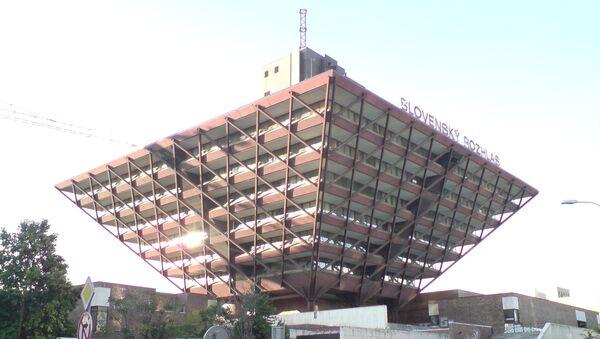 Hlavní budova slovenského rozhlasu v Bratislavě - Sputnik Česká republika
