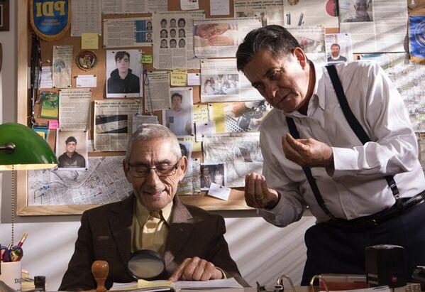 Záběr z filmu Tajný agent, Chile. - Sputnik Česká republika