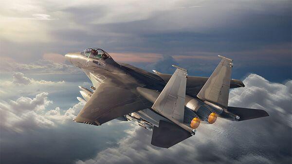 Модернизированный истребитель ВВС США F-15EX - Sputnik Česká republika