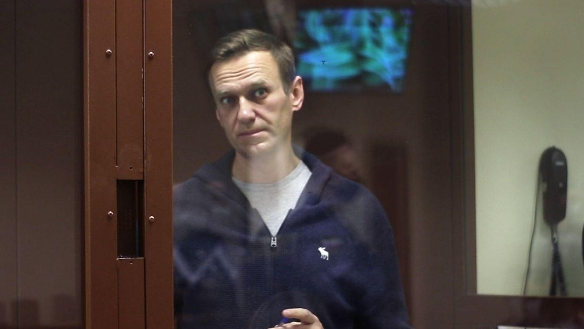 Alexej Navalnyj u soudu - Sputnik Česká republika, 1920, 16.02.2021