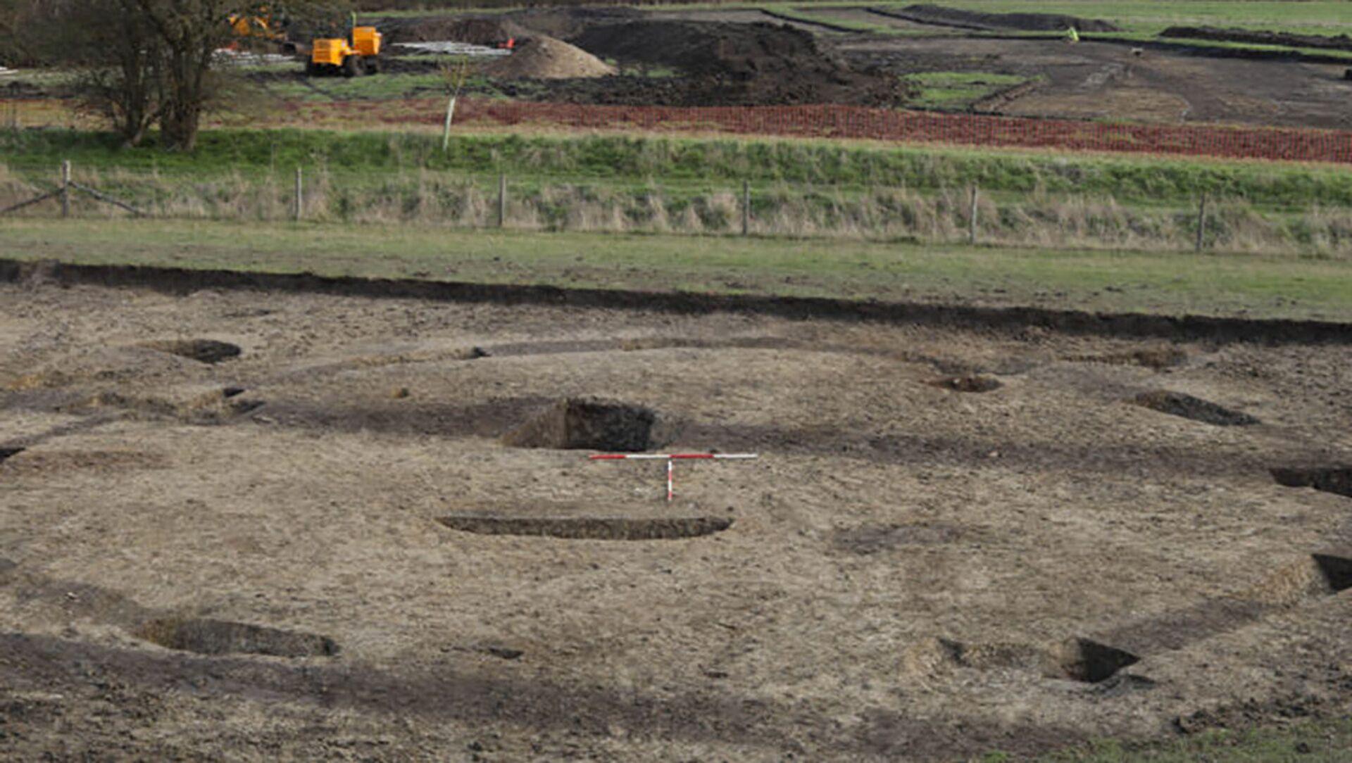 Místo archeologických vykopávek v okrese South Oxfordshire - Sputnik Česká republika, 1920, 16.02.2021