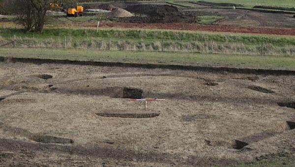 Místo archeologických vykopávek v okrese South Oxfordshire - Sputnik Česká republika