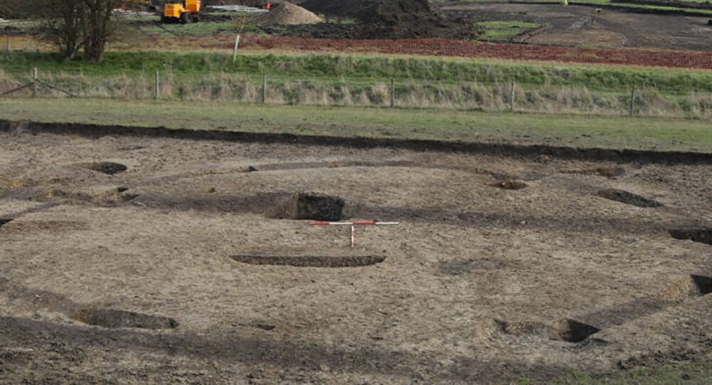 Místo archeologických vykopávek v okrese South Oxfordshire