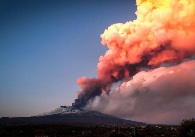 Erupce Etny